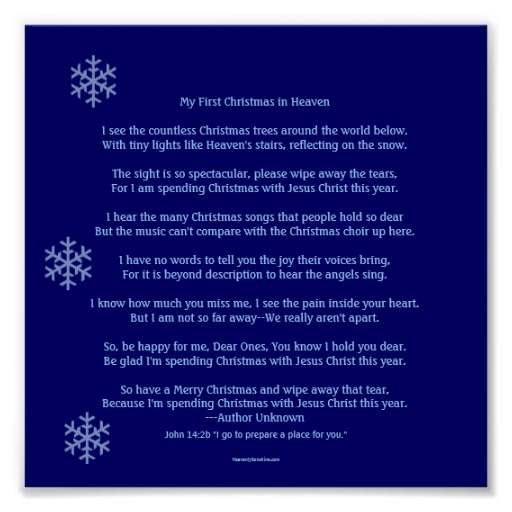 """Search Results for """"First Christmas In Heaven Poem Printable ..."""